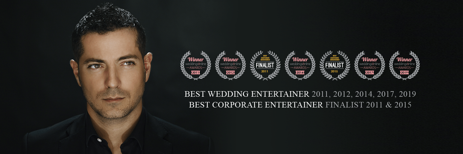 Award-Winning Wedding Entertainment - Shane Black Mentalist