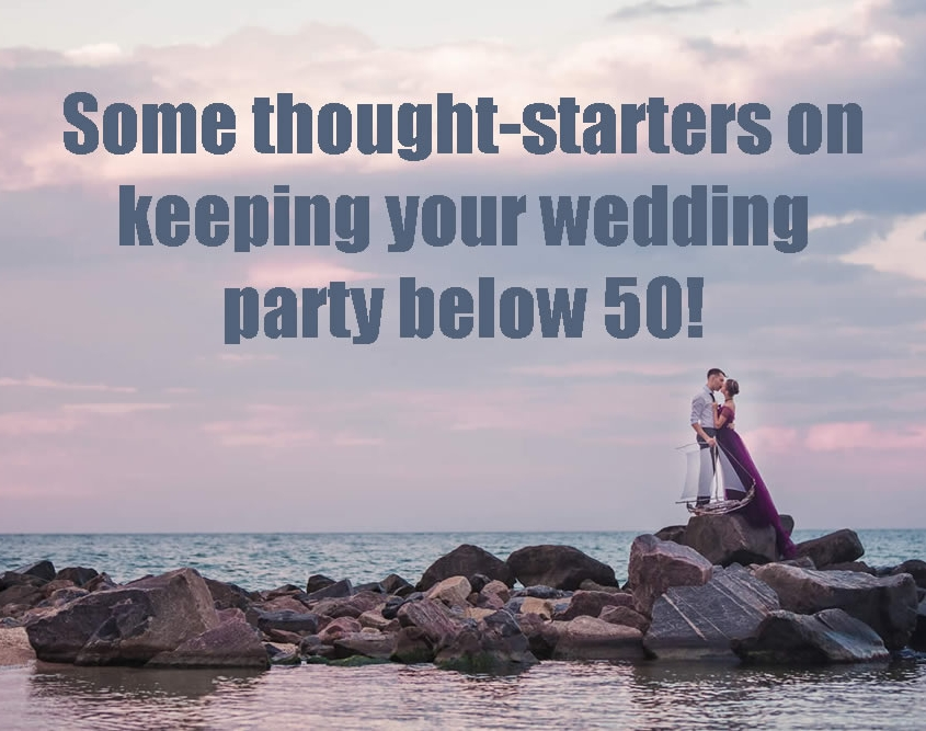 Shane Black Wedding Entertainer Blog - Keeping your guest list to 50