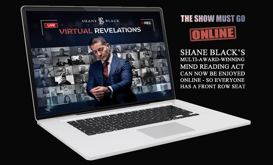 Shane Black Corporate Entertainment -Virtual Mind Reading Show